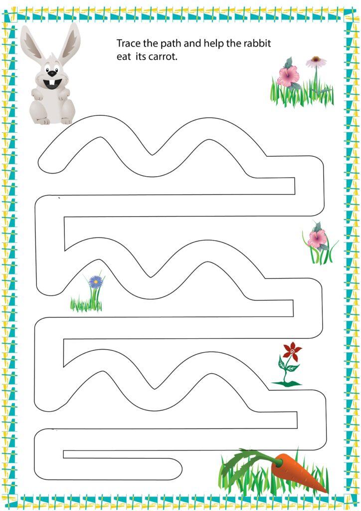 tracing paths